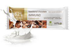 Vitalo Funkčné čokoláda Immuno - Colostrum 25g