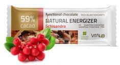 Vitalo Funkčné čokoláda Natu ral Energizer 25g