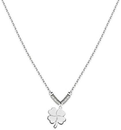 Morellato Ocelový náhrdelník s čtyřlístkem Enjoy SAIY04