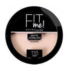 Maybelline Kompaktný zmatňujúci púder Fit Me (Matte & Poreless Powder) 14 g