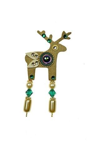 Deers Berryl apró arany szarvas