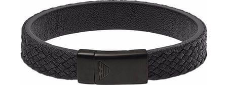 a5f12d5073 Emporio Armani Férfi fekete karkötő EGS2395001 | MALL.HU