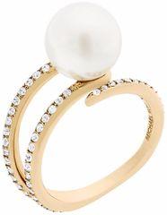 Michael Kors Dámsky prsteň s korálikom a kryštály MKJ6313710