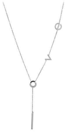 Troli Okrasna jeklena ogrlica