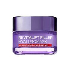 L'ORÉAL PARIS Pleťová maska proti vráskám s kyselinou hyaluronovou Revitalift Filler (Replumping Mask) 50 ml