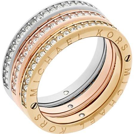 db203dae6 Sada troch vrstvených prsteňov Tricolor MKJ6388998 (Obvod 58 mm) ...