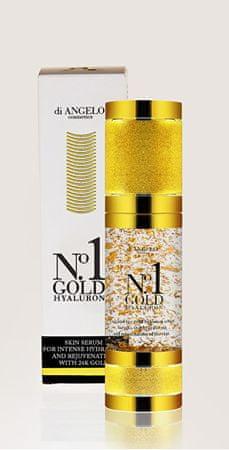 di ANGELO cosmetics Skin szérum hialuronsav No.1 arany hialuronátok (bőrhidratáló Intenzív szérum) 30 ml