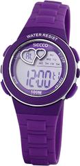 Secco Dámské digitální hodinky S DKM-006