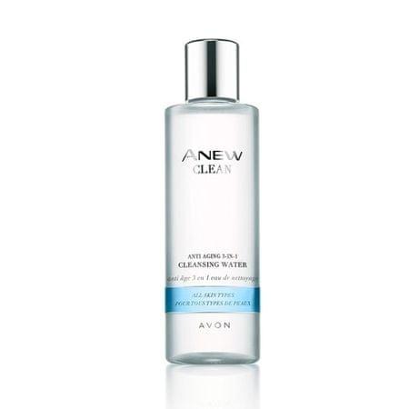 Avon Anew Clean fiatalító hatású arctisztító tonik 3 az 1-ben minden bőrtípusra(Cleansing Water) 200 ml