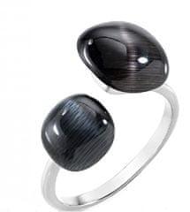 Morellato Eleganten prstan, okrašen z mačjim očesom SAKK33 srebro 925/1000