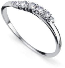 Oliver Weber Srebrni prstan s kristali Petite 63227R srebro 925/1000