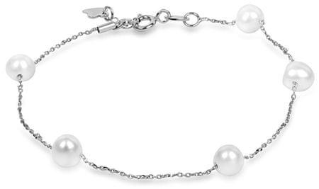 e128db755 Značka: JwL Luxury Pearls Náš kód: 100002414452. Jemný perlový náramok  JL0353 striebro 925/1000 ...