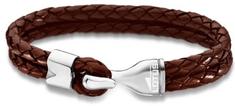 Lotus Style Férfi bőr karkötő LS1840-2/2