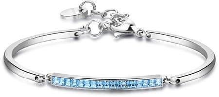 Brosway Nemesacél karkötő kristályokkal Chakra BHK94