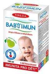TEREZIA COMPANY Baby Imun sirup s hlivou a rakytníkom - príchuť hruška 100 ml