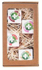 Annabis Dárkové balení Na zkoušku - Lipsticann 15 ml + Cremcann Omega 3-6 15 ml + Balcann 15 ml + Dolorcann