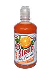 CukrStop sirup se sladidly z rostliny stévie - příchuť pomeranč