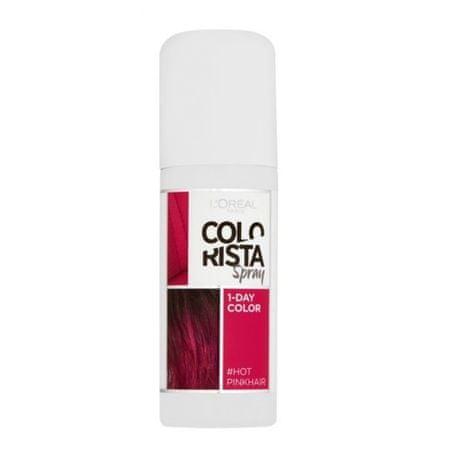 Loreal Paris Colorista Spray hajszínező75 ml (árnyalat 1 Hot Pink)