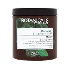 Loreal Paris Botanicals hajerõsítõ hajpakolás gyenge és vékonyszálú hajra (Strength Cure Mask) 200 ml