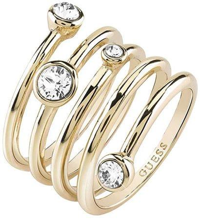 Guess Luxusné špirálovitý prsteň UBR84056 (Obvod 54 mm)