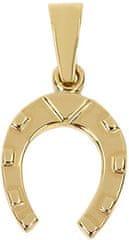 Brilio Zlatý přívěsek Podkova 241 001 00219 zlato žluté 585/1000