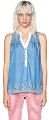 Desigual Damska bluzka Blus Mi Musa 18SWBD08 5007