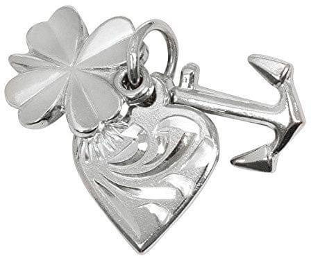 Brilio Silver Srebrny wisiorek miłość, szczęście, nadzieja 441 001 00005 04 srebro 925/1000