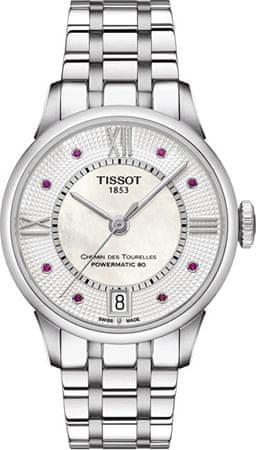 Tissot T-Classic ChemindesTourelles Powermatic 80 T099.207.11.113.00 s rubíny