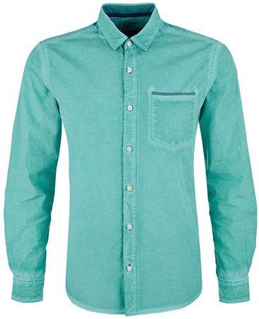 s.Oliver Pánska košeľa 13.803.21.2830.6601 Pale Green (Veľkosť L)