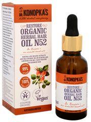 Dr. Konopka´s Bylinný olej na vlasy č. 52 pre obnovu vlasov 30 ml
