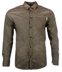 Jack&Jones Pánska košeľa Jorstroke Shirt Ls Cordovan
