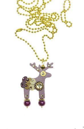 Deers Lila szarvas Zenigma
