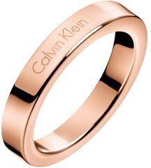 Calvin Klein Bronzový prsteň Hook KJ06PR1001