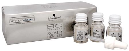 Schwarzkopf Prof. BC Bonacure Scalp Genesis növekedést serkentő haj-aktiváló szérum(Root Activating Serum For Thinning