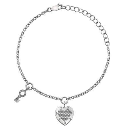 Hot Diamonds Srebrna bransoletka Hot Diamonds Miłość DL561 srebro 925/1000