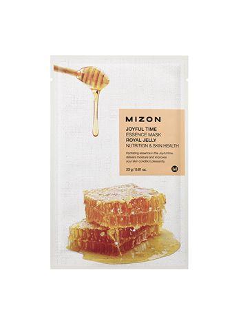 MIZON Plátýnková 3D maska z mleczkiem pszczelim i miodem do żywienia skóra Joyful Time (Essence Mask Royal