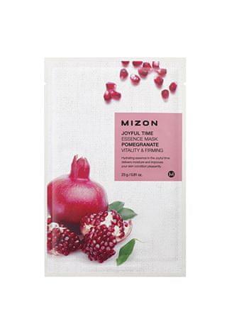 MIZON Joyful Timevitalizáló és bőrfeszesítő 3D fátyolmaszk gránátalma kivonattal (Essence Mask Pomegranate