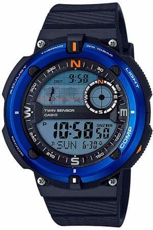 CASIO SGW 600H-2Ahőmérővel, iránytűvel és világidővel