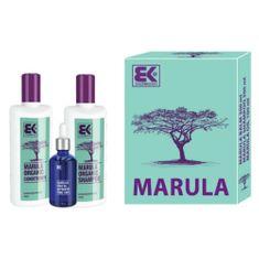Brazil Keratin Olej Gift Set Marula z naturalnego egzotycznego piękna i świeżości włosów i ciała