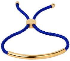 83d0b4bf68 Troli A csipke royal kék karkötő aranyozott acél díszítéssel