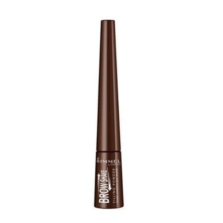 Rimmel A szemhéjárnyaló szemcsék kitöltése (Filling Powder) 0,7 g) (árnyalat 002 Medium Brown )