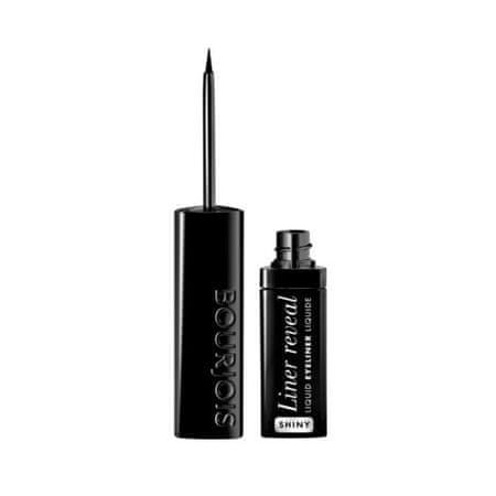 Bourjois Oční linka Liner Reveal Shine (Liquid Eyeliner) 2,5 ml (Odstín 001 Shiny Black)