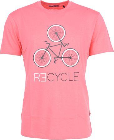 9f71f1003ac4 Noize Pánske tričko Bright Pink 4634230-00-69 (Veľkosť S)