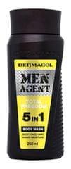 Dermacol Sprchový gél pre mužov 5v1 Total Freedom Men Agent ( Body Wash) 250 ml