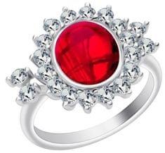 Preciosa Srebrni prstan Camellia 6108 63 srebro 925/1000