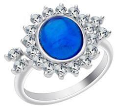 Preciosa Srebrni prstan Camellia 6108 68 srebro 925/1000
