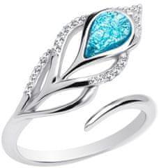 Preciosa Srebrni prstan Penna 6105 29 srebro 925/1000