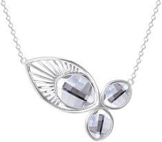 Preciosa Luxusné náhrdelník Orchid 6092 00 striebro 925/1000