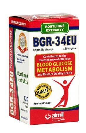 Aimil Pharmaceutical BGR-34EU 120 kapslí