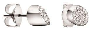 Calvin Klein Jekleni uhani s kristali BrilliantKJ8YME040100